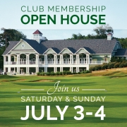 Duck Woods Country Club Membership Open House - July 3 and 4